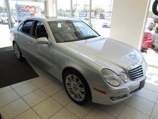 Used 2008 Mercedes-Benz E-Class SPORT, 3,5L, AUTO 4MATIC for sale in Dorval, QC