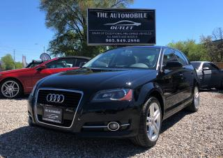 Used 2012 Audi A3 2.0T Progressiv PANO SUNROOF NO ACCIDENT for sale in Mississauga, ON
