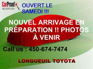Used 2015 Toyota Corolla LE for sale in Longueuil, QC