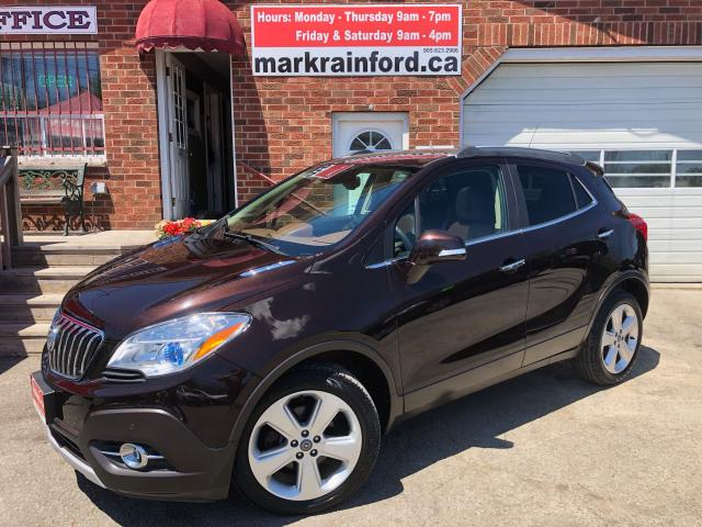 2015 Buick Encore Premium FWD Sunroof Back Up Cam Bluetooth Leather