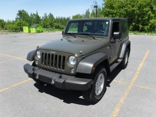 Used 2015 Jeep Wrangler SPORT for sale in Cornwall, ON