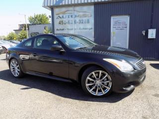 Used 2008 Infiniti G37 ***-S-,COUPÉ,CUIR.TOIT,AUTOMATIQUE*** for sale in Longueuil, QC