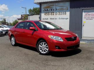 Used 2009 Toyota Corolla ***LE,TOIT,AUTOMATIQUE,MAGS*** for sale in Longueuil, QC