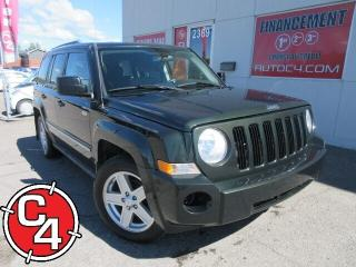 Used 2010 Jeep Patriot North Awd Gar. A/c for sale in St-Jérôme, QC
