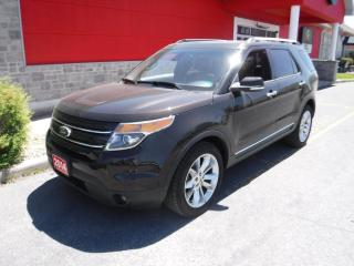 Used 2014 Ford Explorer LIMITED for sale in Cornwall, ON