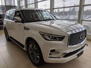 Used 2019 Infiniti QX80 8 PASSENGER PRO ACTIVE for sale in Edmonton, AB