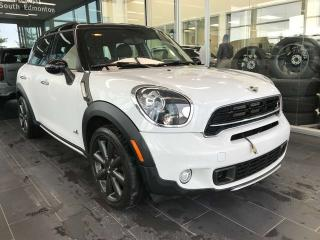 Used 2015 MINI Cooper Countryman COUNTRYMAN S, ACCIDENT FREE, HEATED LEATHER SEATS, SKYROOF, CRUISE CONTROL for sale in Edmonton, AB