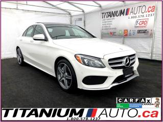 Used 2015 Mercedes-Benz C-Class AMG PKG+4Matic+GPS+Camera+Pano Roof+Blind Spot for sale in London, ON