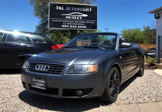 Used 2006 Audi A4 1.8T CABRIOLET CONVERTIBLE NO ACCIDENT for sale in Mississauga, ON