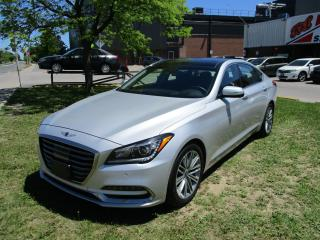 Used 2018 Genesis G80 3.8 Technology~FULLY LOADED~NAV.~BSM~LANE ASIST~ for sale in Toronto, ON