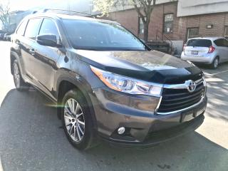 Used 2014 Toyota Highlander XLE, NAVIGATION, LEATHER SUNROOF for sale in North York, ON