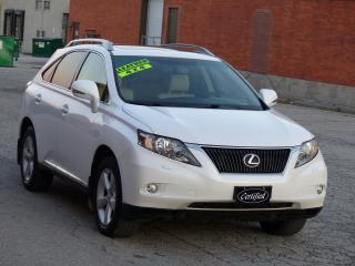 Used 2010 Lexus RX 350 AWD, LEATHER, REAR-CAM, SUNROOF,SHOWROOM CONDITION for sale in Mississauga, ON