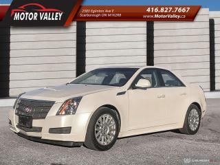 Used 2010 Cadillac CTS 3.0L Only 084,642KM 1-Owner No Accident! for sale in Scarborough, ON