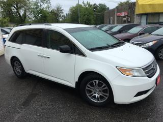 Used 2011 Honda Odyssey EX/ DVD/ REVERSE CAM/ PWR SLIDING DOORS/ TINTED! for sale in Scarborough, ON