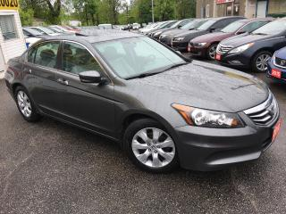 Used 2010 Honda Accord EX-L/ AUTO/ LEATHER/ SUNROOF/ ALLOYS/ LIKE NEW! for sale in Scarborough, ON