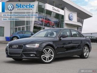 Used 2013 Audi A4 Premium for sale in Dartmouth, NS