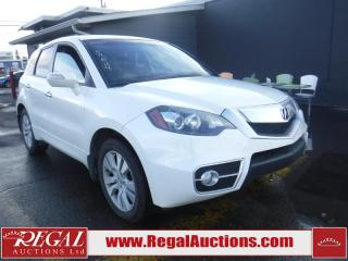 Used 2010 Acura RDX 4D Utility AWD for sale in Calgary, AB