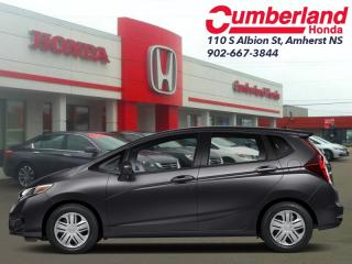 New 2019 Honda Fit DX MT  - Bluetooth for sale in Amherst, NS