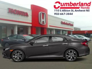 New 2019 Honda Civic Sedan Touring CVT  - Leather Seats for sale in Amherst, NS