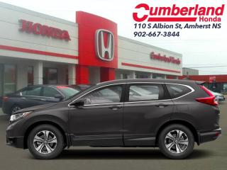 New 2019 Honda CR-V LX FWD  - Heated Seats -  Apple CarPlay for sale in Amherst, NS