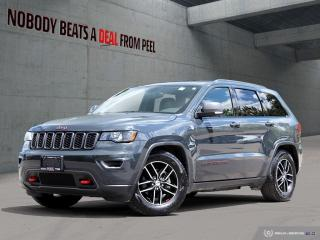 Used 2017 Jeep Grand Cherokee Trailhawk*Pwr Gate*Rem Start*8.4screen*Cam*Clean for sale in Mississauga, ON