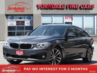 Used 2015 BMW 328i GT xDrive SPORT PKG HUD NAVIGATION PANO ROOF RED INTERIOR for sale in Toronto, ON