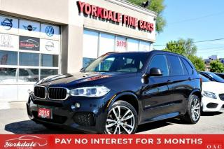Used 2015 BMW X5 xDrive35i, M Sport, Pano, Navi, 360 Cam, HUD for sale in Toronto, ON
