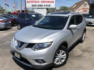 Used 2014 Nissan Rogue SV Family Tech AWD 7-Passenger/Navigation/Sunroof for sale in Mississauga, ON