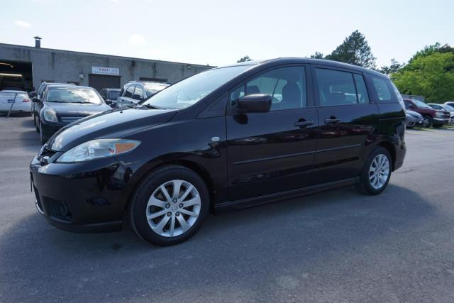 2007 Mazda MAZDA5 GT AUTO 6 PASSENGERS CERTIFIED 2YR WARRANTY *1 OWNER*NO ACCIDENT*SERVICE RECORDS*2ND SET OF TIRES* ALLOYS