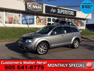 Used 2017 Dodge Journey GT  AWD LEATH 7-PASS P/SEAT HS BT for sale in St. Catharines, ON