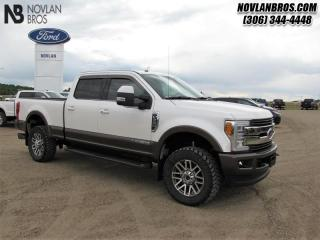Used 2017 Ford F-350 Super Duty King Ranch  - Navigation for sale in Paradise Hill, SK