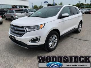 Used 2018 Ford Edge SEL  - Bluetooth -  Heated Seats for sale in Woodstock, ON