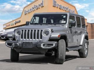 New 2019 Jeep Wrangler Unlimited Sahara  - Navigation - $349 B/W for sale in Brantford, ON