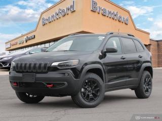 New 2019 Jeep Cherokee Trailhawk Elite  - Navigation - $270.00 B/W for sale in Brantford, ON
