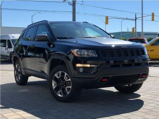 Used 2018 Jeep Compass Trailhawk**4X4**Leather**NAV**Panoramic Roof** for sale in Mississauga, ON
