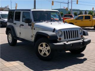 Used 2008 Jeep Wrangler Unlimited Sport**4X4**A/C** for sale in Mississauga, ON