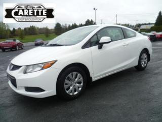 Used 2012 Honda Civic for sale in East broughton, QC