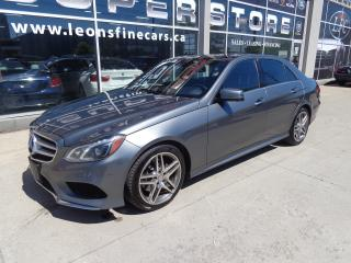 Used 2016 Mercedes-Benz E-Class E250 BlueTEC 4MATIC.AMG SPORTS PKG NAVI.PANO ROOF for sale in Etobicoke, ON