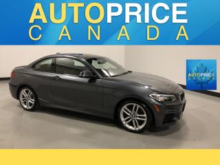Used 2016 BMW 2-Series 228 i xDrive M-SPORT PKG|NAVIGATION|MOONROOF for sale in Mississauga, ON