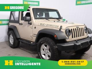 Used 2016 Jeep Wrangler Sport A/c Mags for sale in St-Léonard, QC