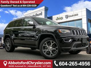 Used 2019 Jeep Grand Cherokee Limited - Leather Seats for sale in Abbotsford, BC