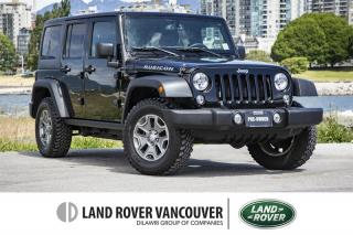 Used 2015 Jeep Wrangler Unlimited Rubicon for sale in Vancouver, BC
