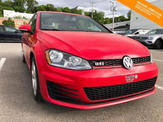 Used 2016 Volkswagen Golf GTI 2.0TSI + CAMÉRA for sale in Québec, QC