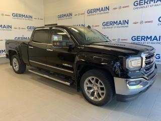 Used 2017 GMC Sierra 1500 SLT -BUSHWAKER - CUIR -GPS -V8 6.2L -GROUPE NHT for sale in St-Raymond, QC