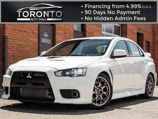 Used 2014 Mitsubishi Lancer Evolution 4dr Sdn GSR for sale in North York, ON