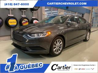 Used 2017 Ford Fusion SE FWD * CAMERA RECUL* A/C * SIEGES CHAUFFANTS for sale in Québec, QC
