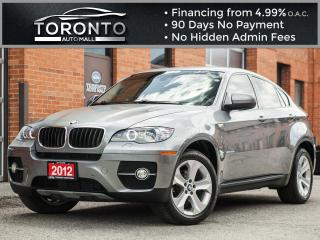 Used 2012 BMW X6 Navigation Camera Sport pkg Comfort access Low km for sale in North York, ON