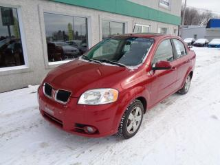 Used 2009 Pontiac Wave Berline SE 4 portes for sale in St-Jérôme, QC