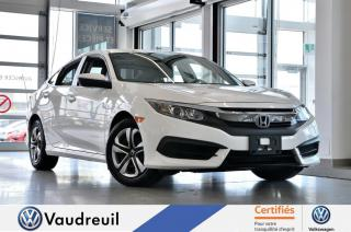 Used 2016 Honda Civic LX * BLUETOOTH *** Réservé *** for sale in Vaudreuil-Dorion, QC