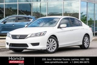 Used 2015 Honda Accord LX for sale in Lachine, QC